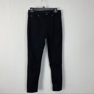 Articles of Society Black Highwaisted Skinny Jeans